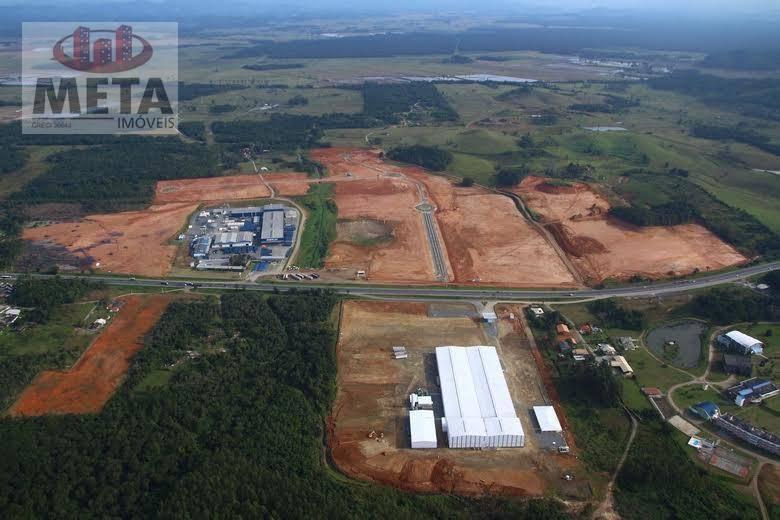 Terreno/Lote à venda  no Corveta - Araquari, SC. Imóveis