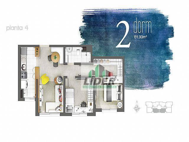 Apartamento residencial à venda, Harmonia, Canoas.