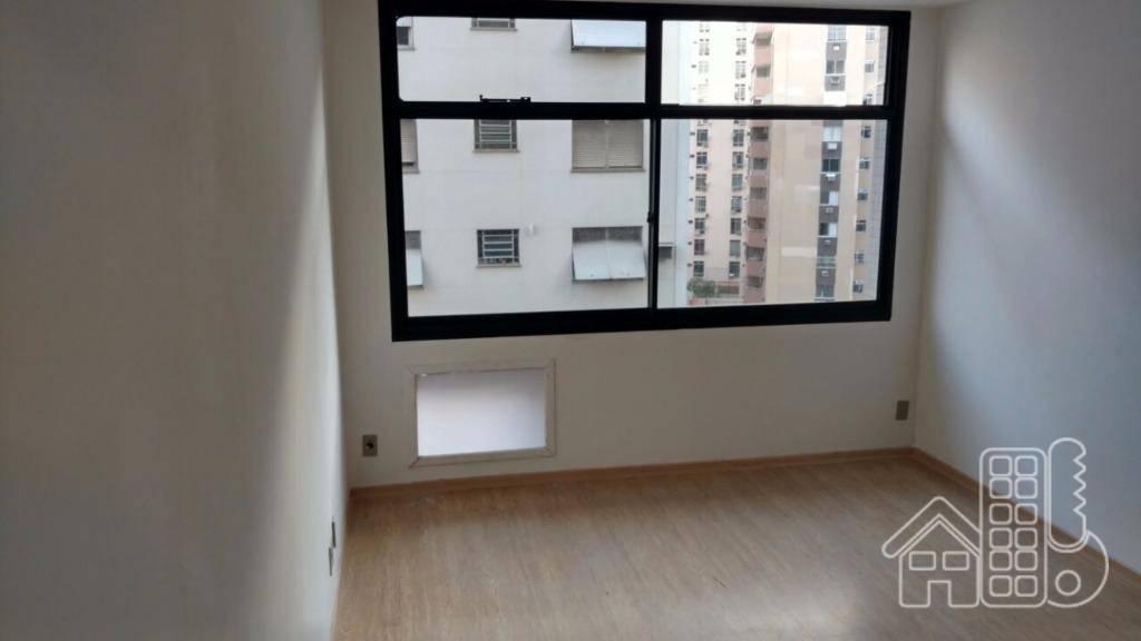 Sala para alugar, 34 m² por R$ 1.500,00/mês - Icaraí - Niterói/RJ