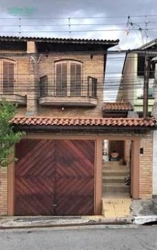 Sobrado com 3 dormitórios à venda, 170 m² por R$ 700.000 - Jardim Santa Clara - Guarulhos/SP