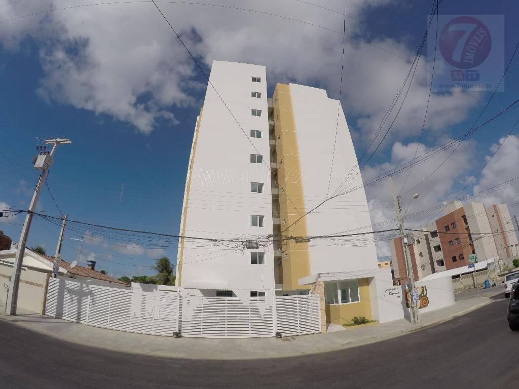Apartamento residencial à venda, Bancários, João Pessoa - AP