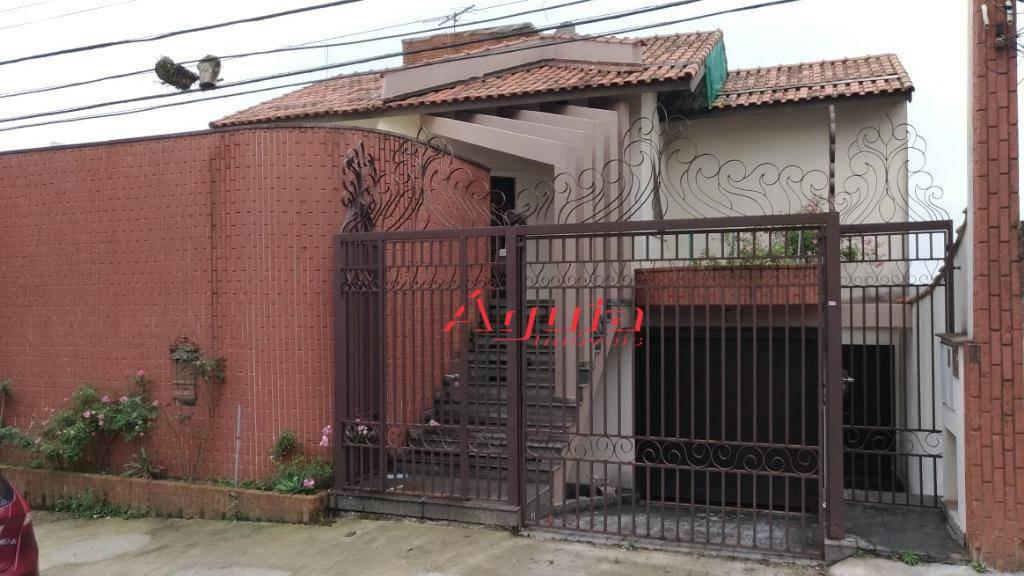Casa com 5 dormitórios à venda, 405 m² por R$ 830.000 - Vila Junqueira - Santo André/SP