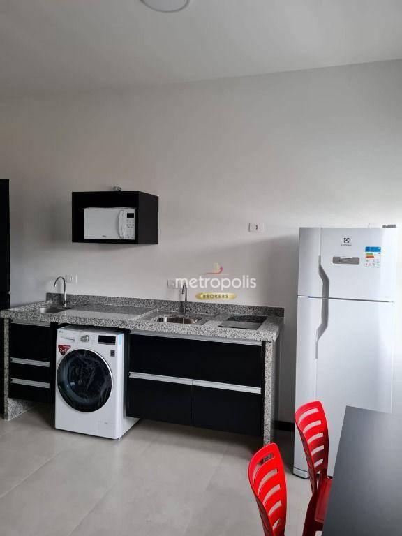 Studio para alugar, 26 m² por R$ 1.980,00/mês - Santo Antônio - São Caetano do Sul/SP