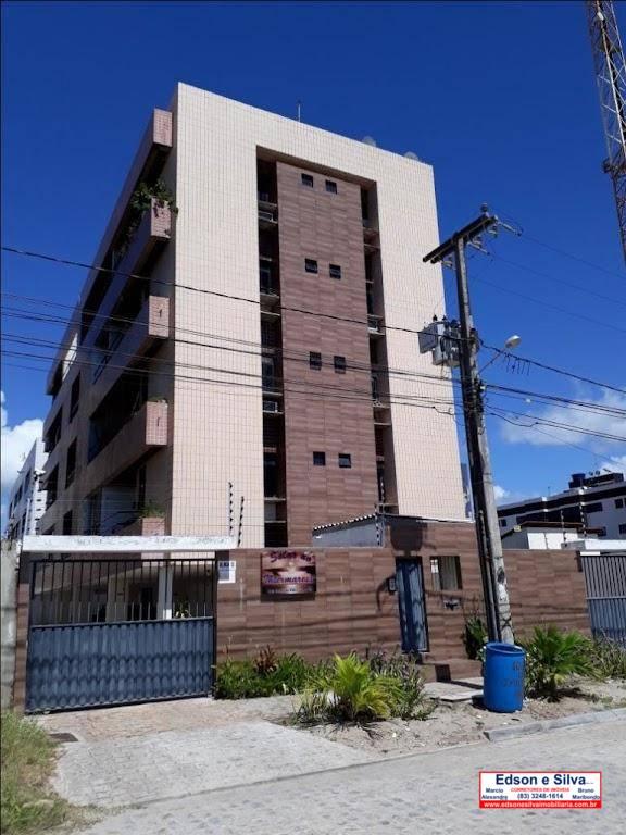 Cobertura com 2 dormitórios à venda, 110 m² por R$ 200.000 - Intermares - Cabedelo/PB