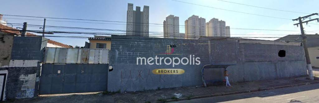 Galpão à venda, 941 m² por R$ 3.000.000,00 - Campestre - Santo André/SP