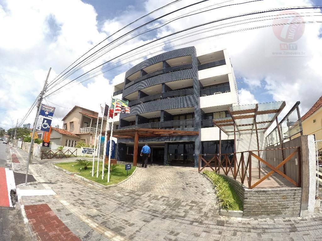 Flat residencial à venda, Cabo Branco, João Pessoa - FL0001.