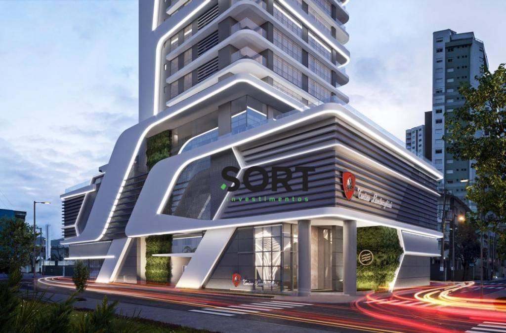 Apartamento no Edifício Tonino Lamborghini , 4 suítes, 4 vagas de garagem, Balneário Camboriú  – Embraed