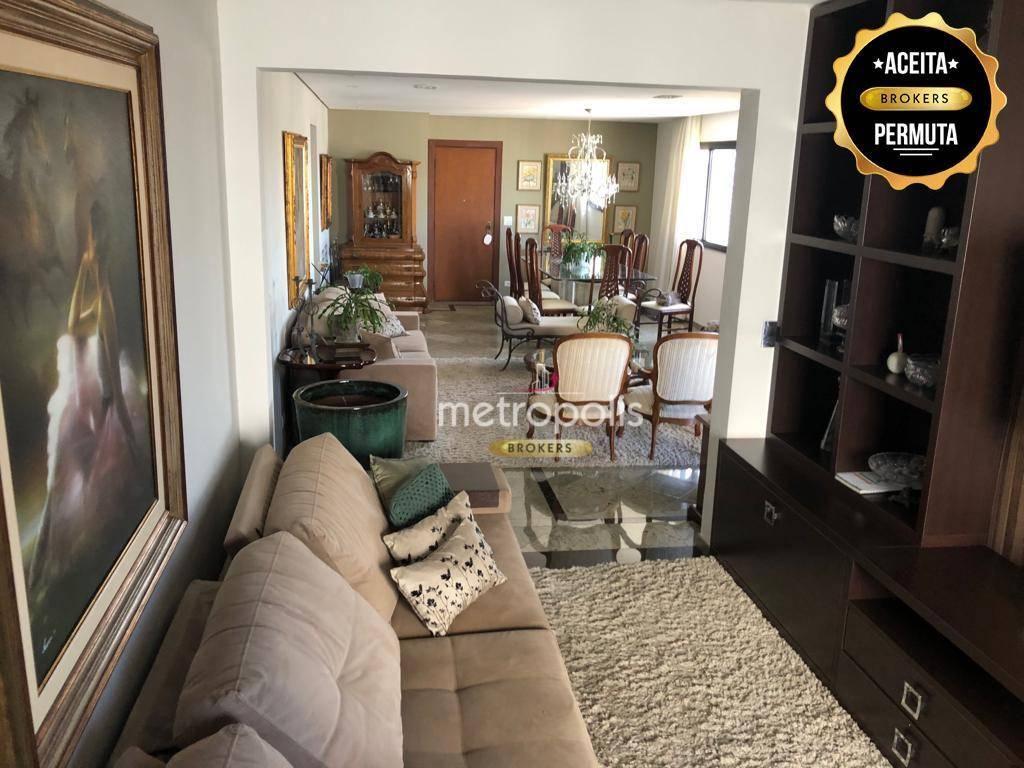 Apartamento à venda, 165 m² por R$ 860.000,00 - Santo Antônio - São Caetano do Sul/SP