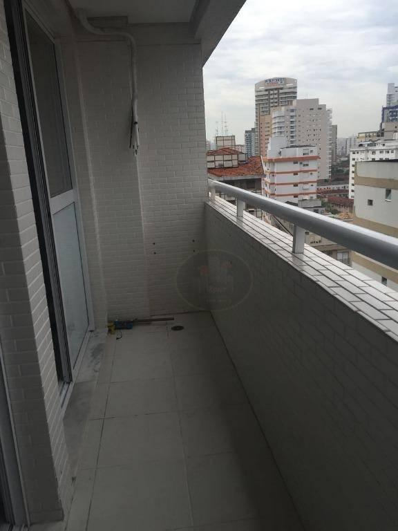 Sala à venda, 44 m² por R$ 296.800,00 - Boqueirão - Santos/SP