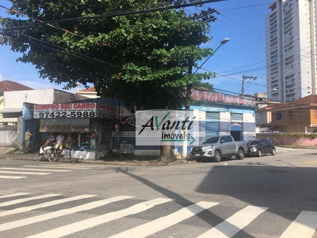 Ponto comercial para locação - Marapé - Santos/SP