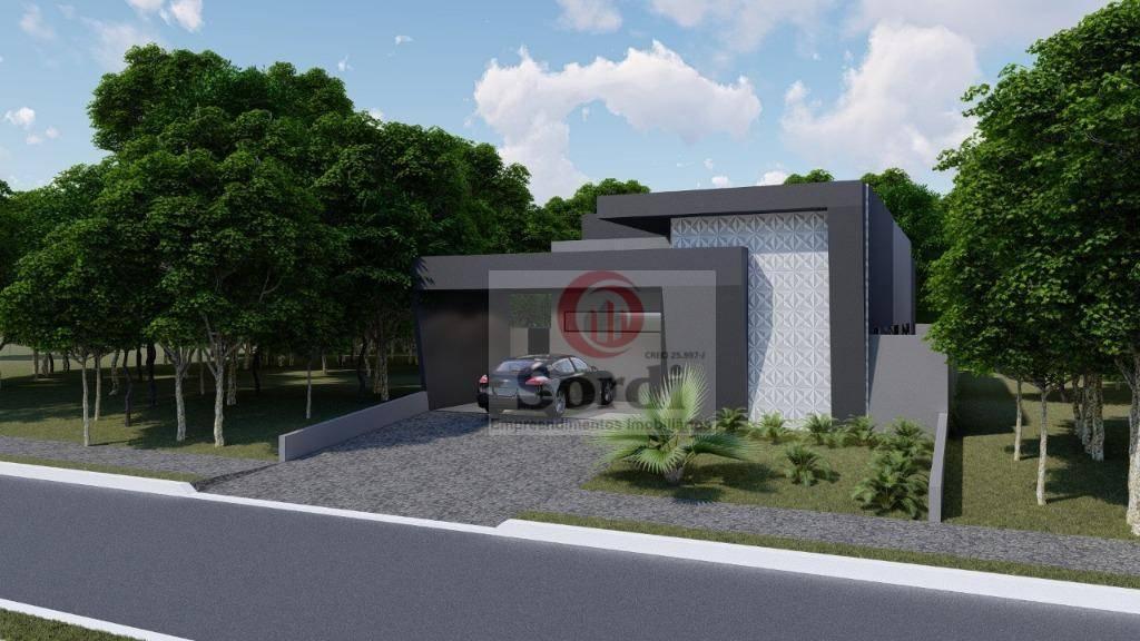 Casa com 3 suítes à venda, 176 m² por R$ 980.000 - Condomínio Buona Vita Florença - Ribeirão Preto/SP
