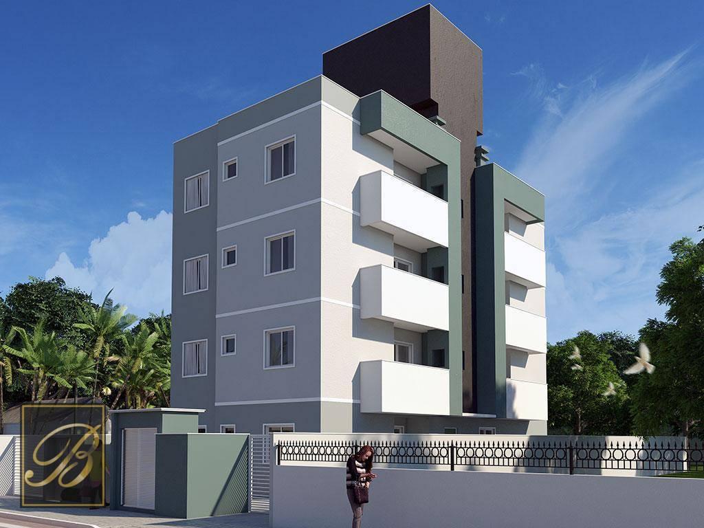 Apartamento com 2 dormitórios à venda, 50 m² por R$ 156.000 - Vila Nova - Joinville/SC