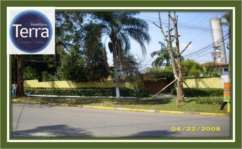Terreno comercial à venda, Granja Viana.