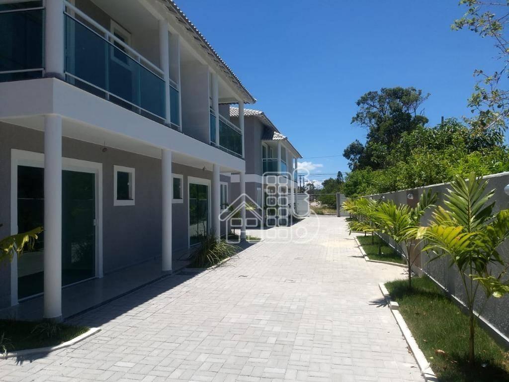 Casa com 2 dormitórios à venda, 85 m² por R$ 270.000,00 - Jardim Atlântico Leste (Itaipuaçu) - Maricá/RJ