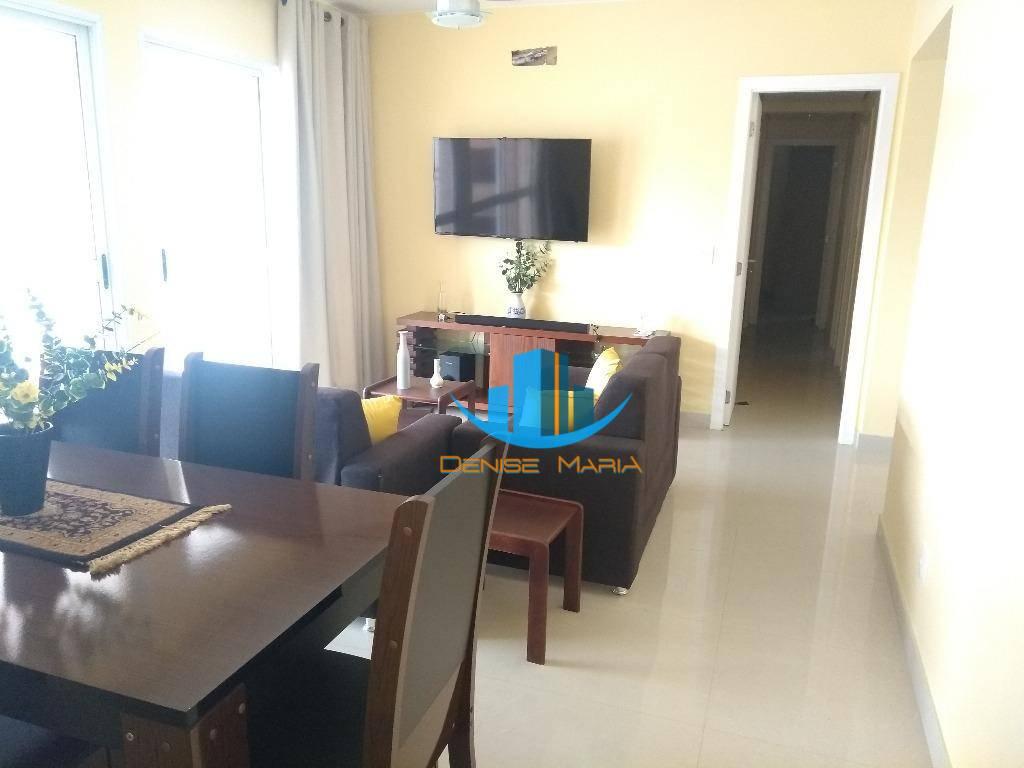 Apartamento Mobiliado Alto Padrão 3 Dormitórios em Santos -