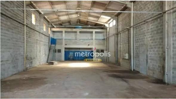 Galpão à venda, 303 m² por R$ 820.000,00 - Nova Gerti - São Caetano do Sul/SP