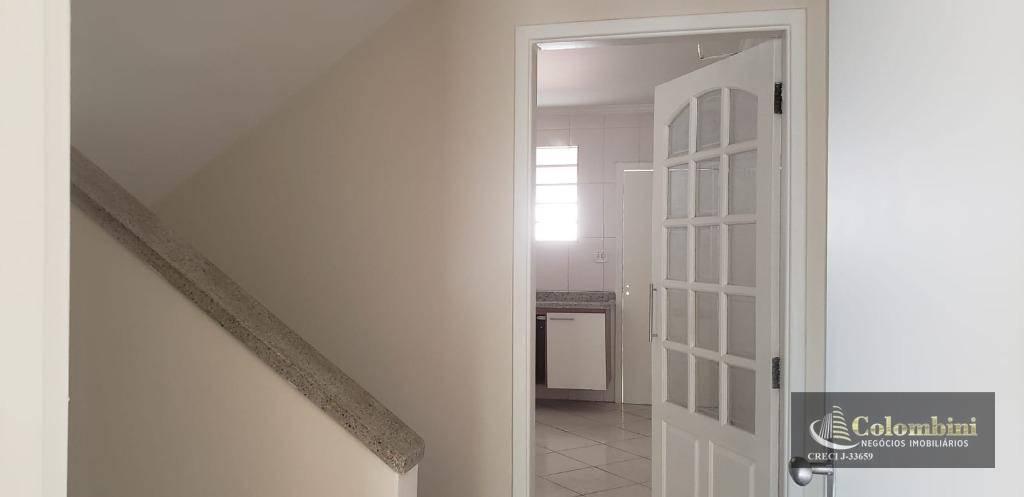 Sobrado com 2 dormitórios para alugar, 140 m²  - Santa Paula - São Caetano do Sul/SP
