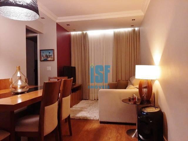Apartamento com 2 dormitórios à venda, 57 m² por R$ 230.000 - Parque Rincão - Cotia/SP - AP24580.