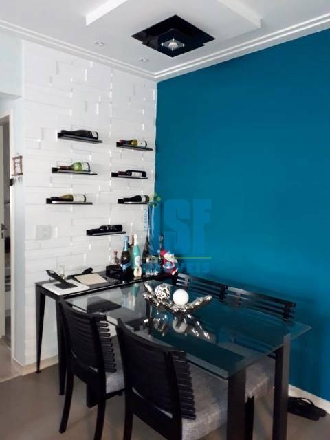 Apartamento com 3 dormitórios à venda, 94 m² por R$ 660.000 - Jardim Tupanci - Barueri/SP - AP24891.
