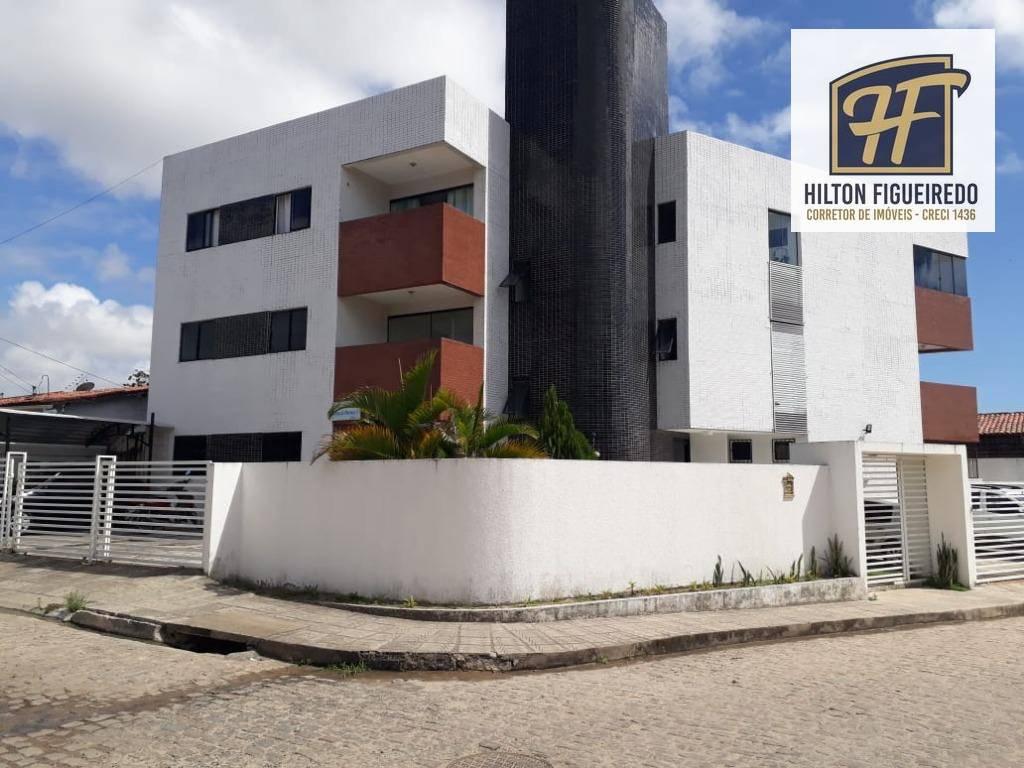 Apartamento com 2 dormitórios à venda por R$ 140.000 - José Américo de Almeida - João Pessoa/PB