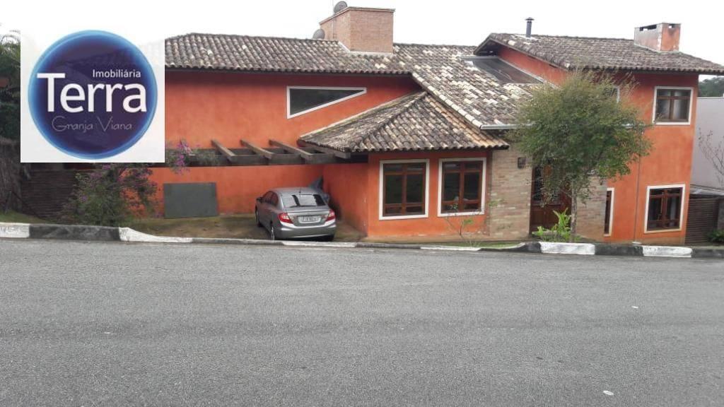 Casa com 4 dormitórios à venda, 420 m² por R$ 1.350.000 - Parque das Artes - Granja Viana.