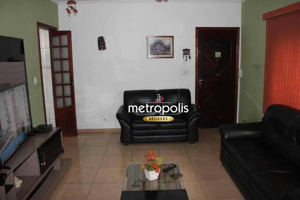 Sobrado com 3 dormitórios à venda, 167 m² por R$ 600.000 - Mauá - São Caetano do Sul/SP