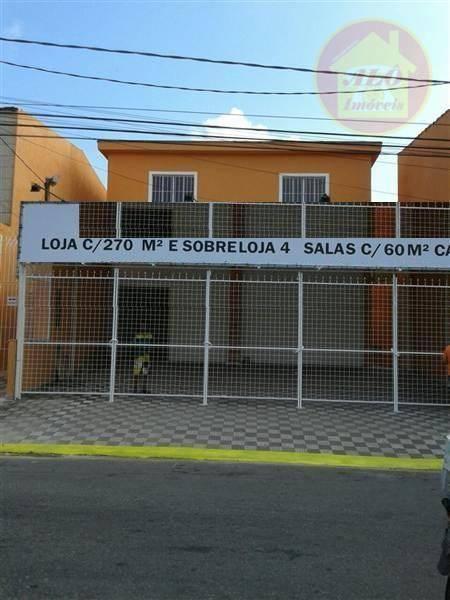 Prédio comercial para venda e locação, Jardim Rio Branco, São Vicente.