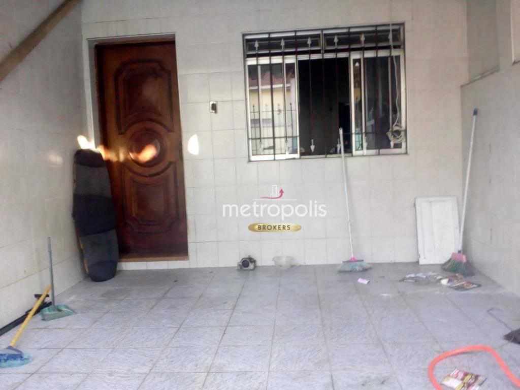Casa com 3 dormitórios à venda por R$ 270.000 - Campestre - Santo André/SP