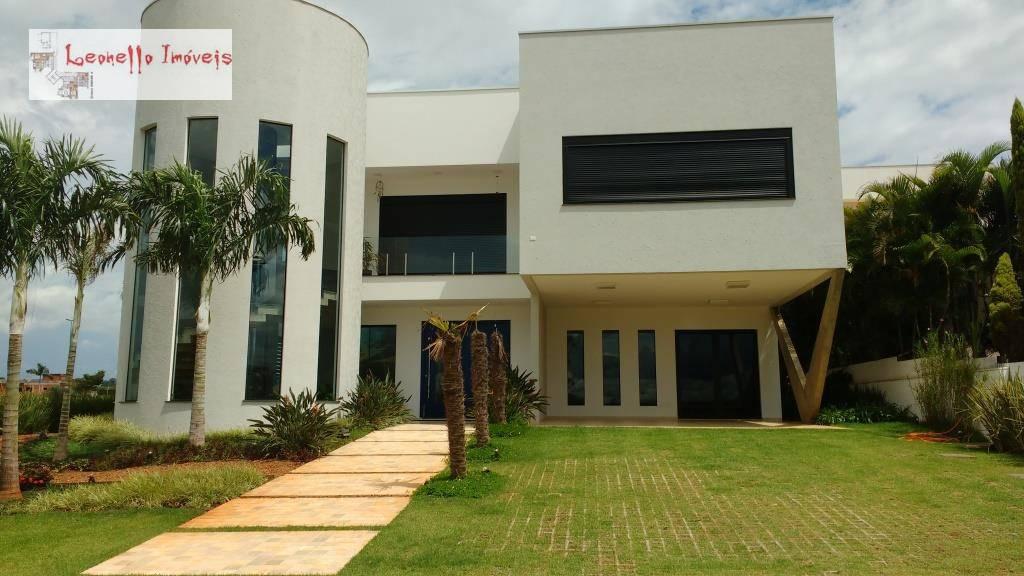 Casa em condomínio com 5 suítes à venda! 650 m² - Colina da Castelo - Porto Feliz/SP