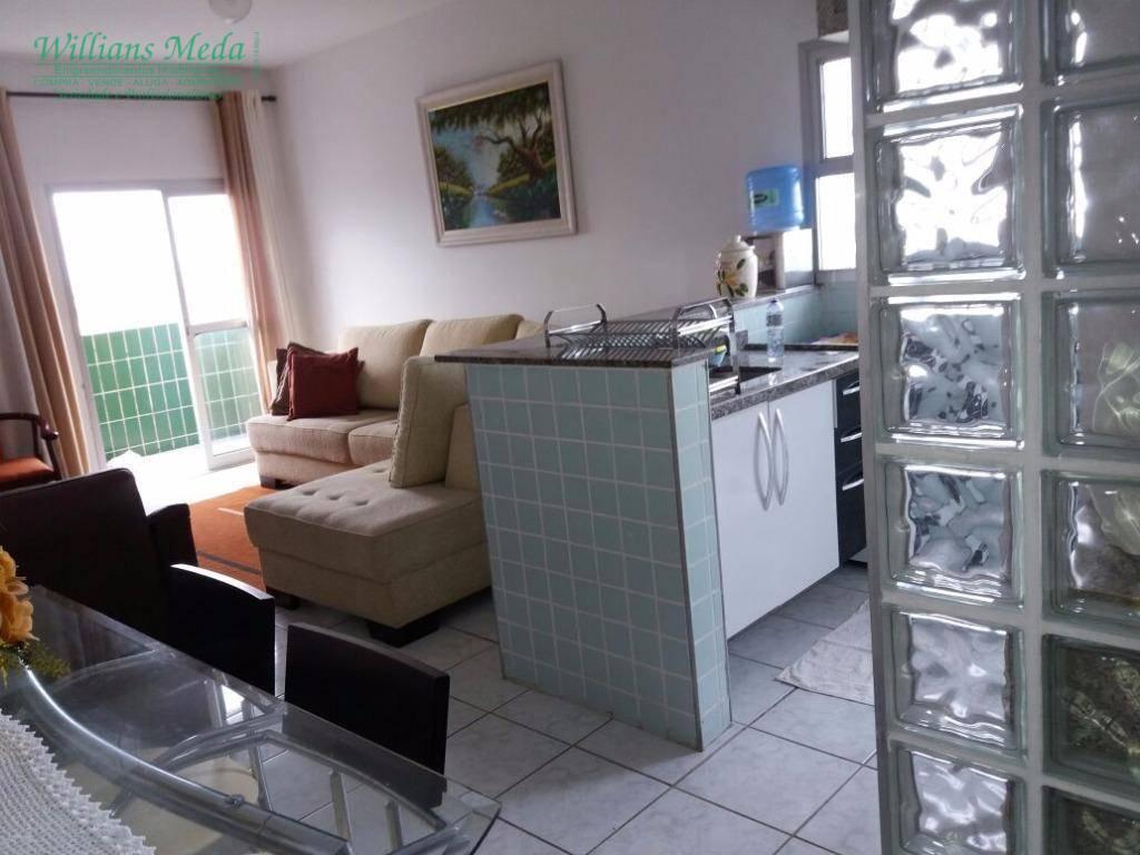 Apartamento à venda, 63 m² por R$ 175.000,00 - Vila Caiçara - Praia Grande/SP