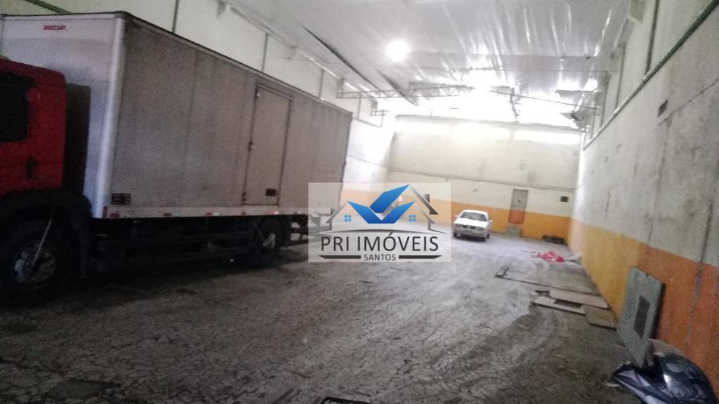 Galpão à venda, 571 m² por R$ 1.800.000 - Valongo - Santos/SP