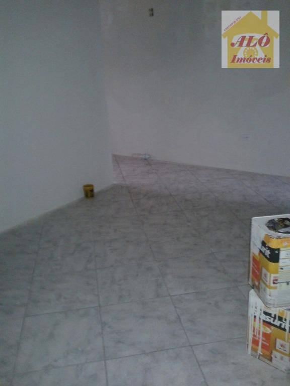 Sala, 60 m² - venda por R$ 150.000,00 ou aluguel por R$ 1.100,00/mês - Vila Guilhermina - Praia Grande/SP