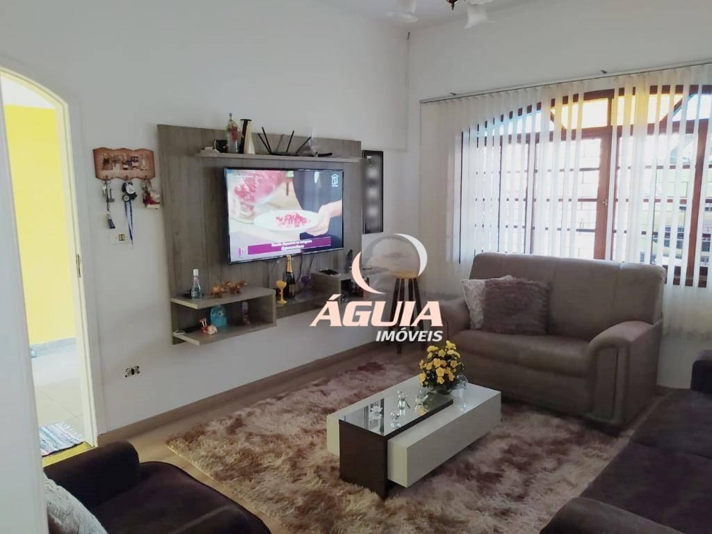 Sobrado com 3 dormitórios à venda, 232 m² por R$ 670.000,00 - Vila Curuçá - Santo André/SP