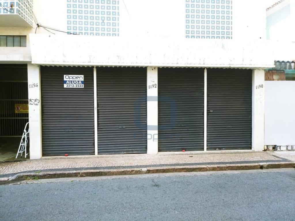 Excelente ponto comercial para alugar, 40 m² por R$ 1.500/mês - Centro - Campinas/SP