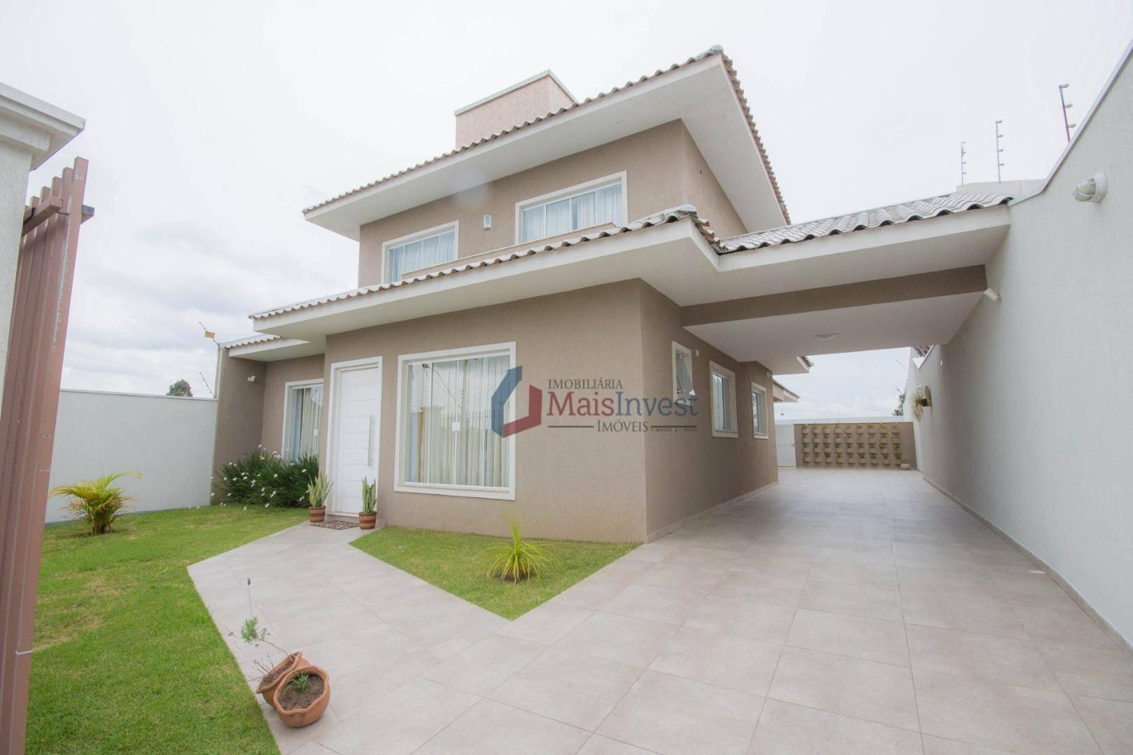Casa com 4 dormitórios à venda, 295 m² por R$ 1.250.000 - Jardim Patricia - Quatro Barras/PR