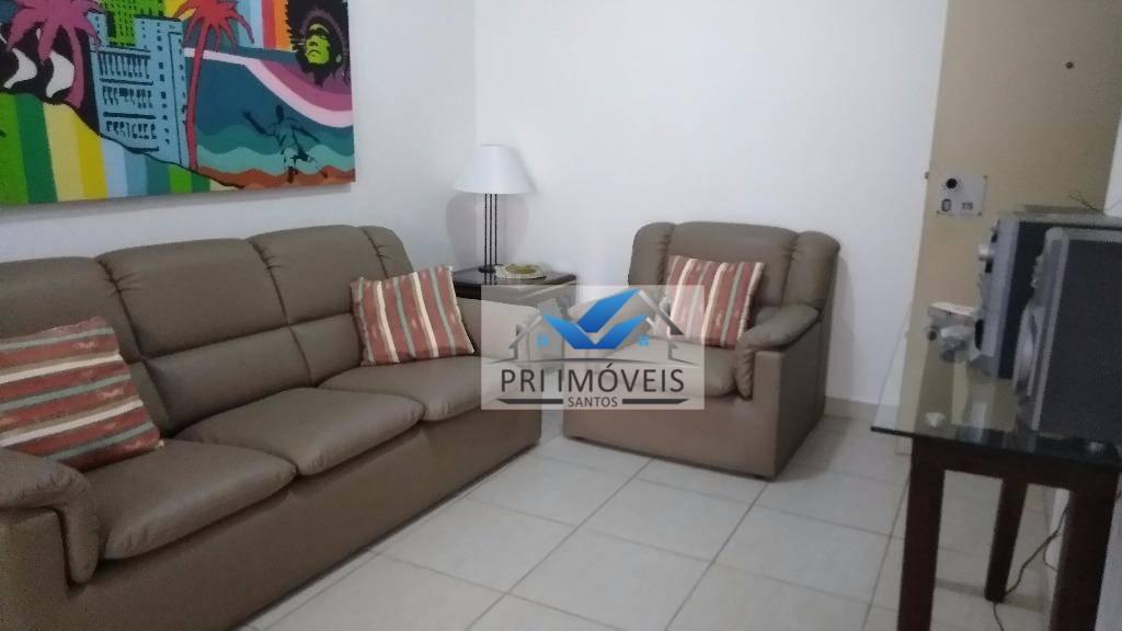 Flat à venda, 67 m² por R$ 530.000,00 - Centro - Guarujá/SP