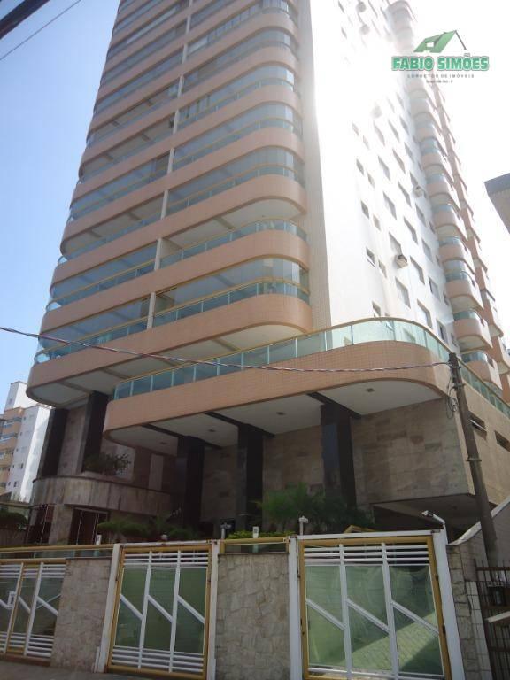 Apartamento com 1 dormitório à venda por R$ 200.000 - Campo da Aviação - Praia Grande/SP