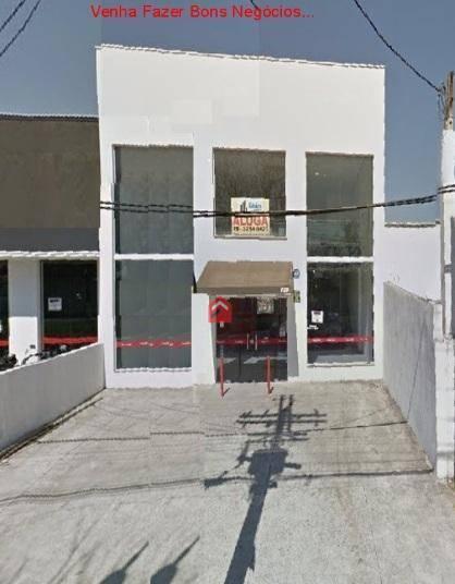 Salão comercial para locação, Ponte Preta, Campinas - SL0009