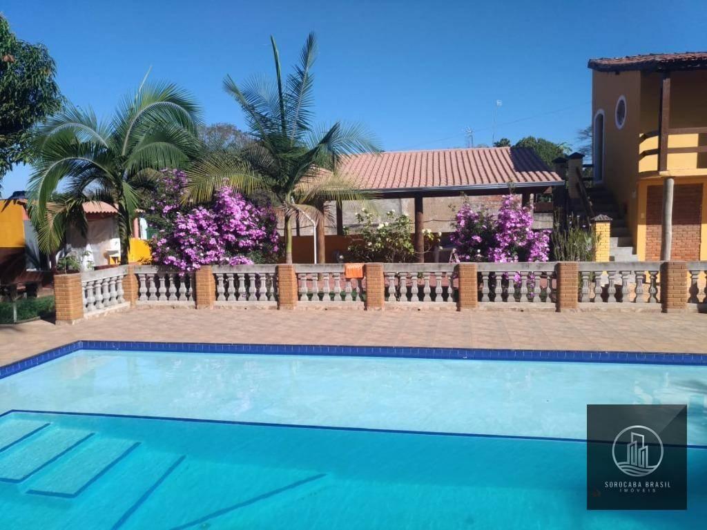 Chácara com 5 dormitórios à venda, 2000 m² por R$ 550.000,00 - Monte Bianco - Araçoiaba da Serra/SP