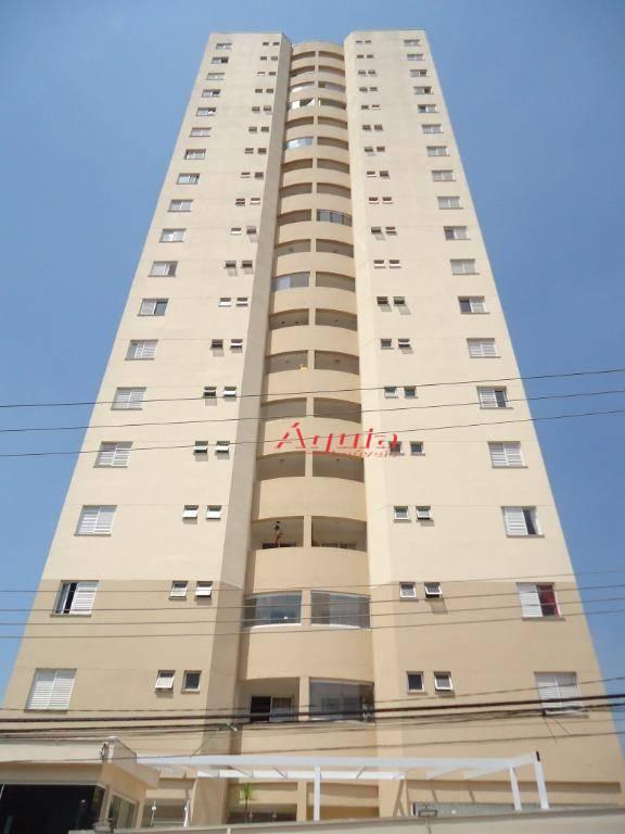 Apartamento com 2 dormitórios à venda, 52 m² por R$ 325.000 - Vila Alpina - Santo André/SP