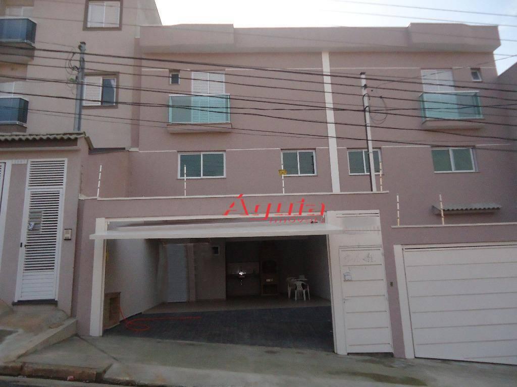 Sobrado residencial à venda, Parque Novo Oratório, Santo André - SO0404.