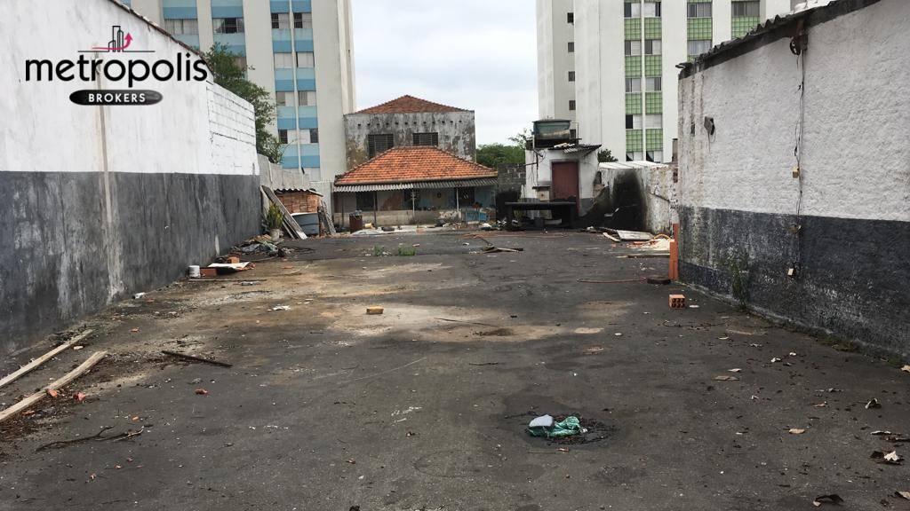 Terreno para alugar, 500 m² por R$ 6.000,00/mês - Santa Paula - São Caetano do Sul/SP