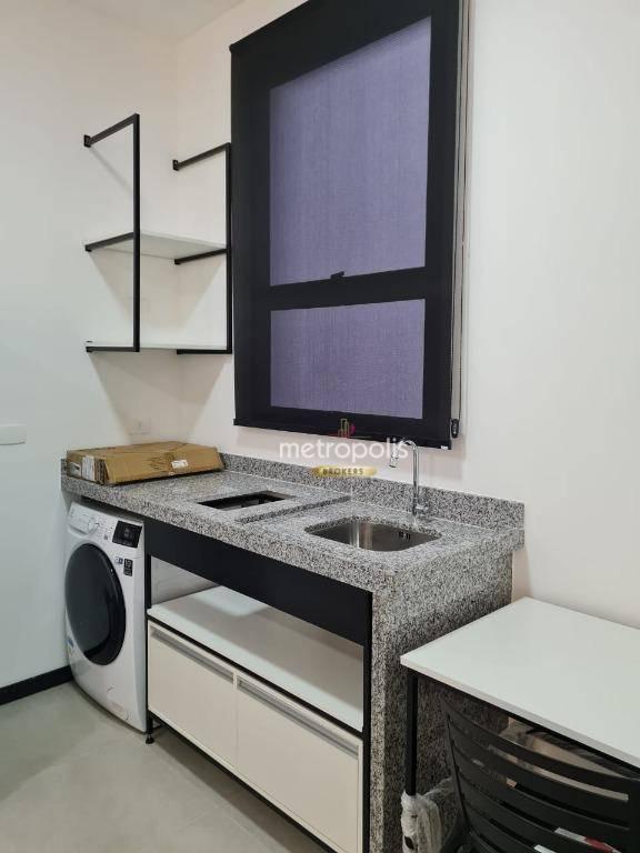 Studio para alugar, 22 m² por R$ 1.780,00/mês - Santo Antônio - São Caetano do Sul/SP