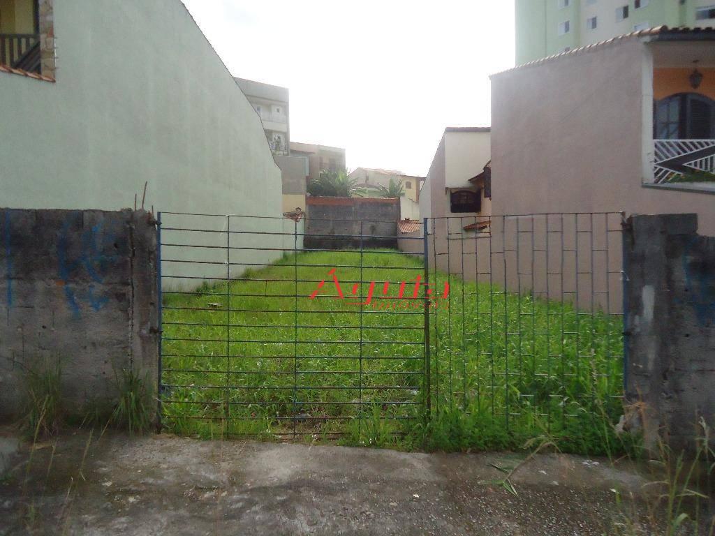 Terreno residencial à venda, Parque Jaçatuba, Santo André.