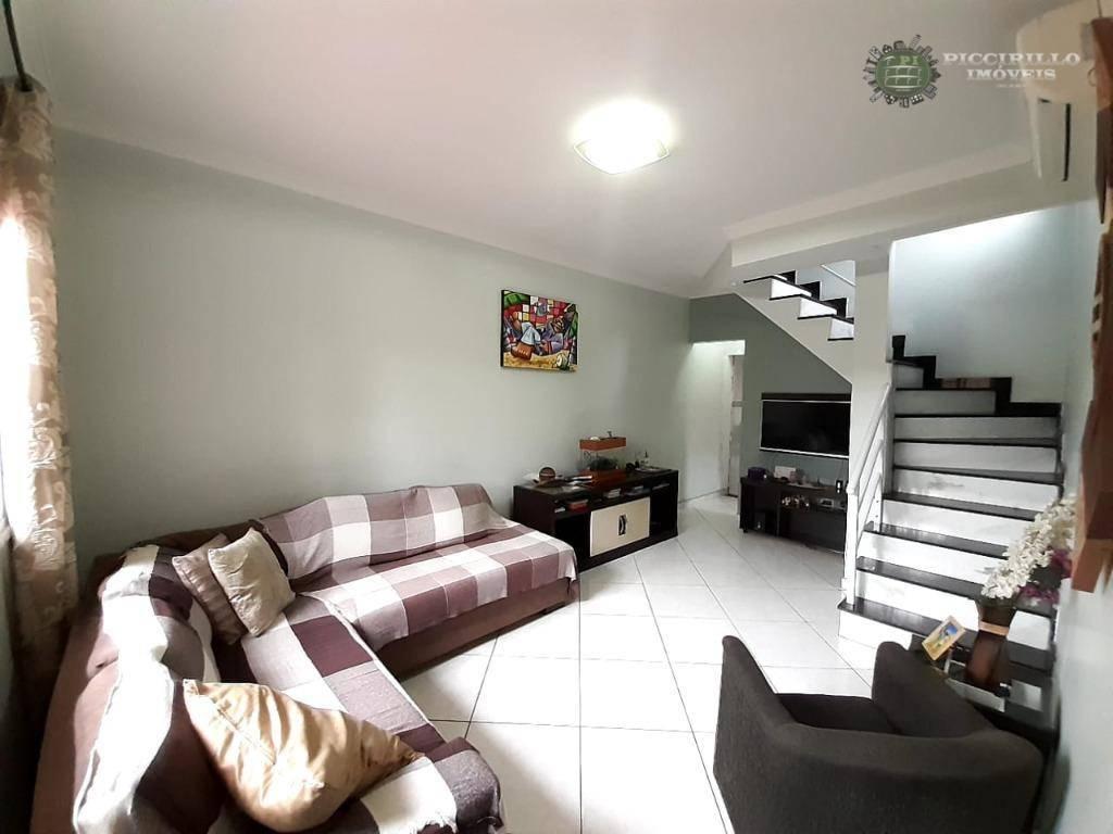 Sobrado com 2 dormitórios à venda, 87 m² por R$ 450.000 - Boqueirão - Praia Grande/SP