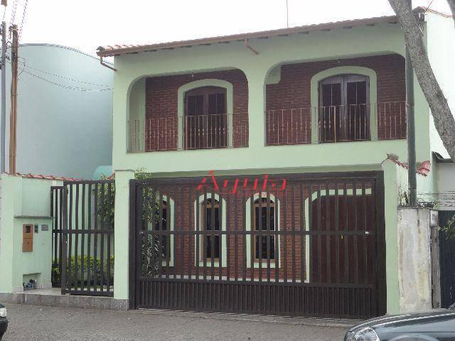 Sobrado residencial à venda, Paraíso, Santo André.