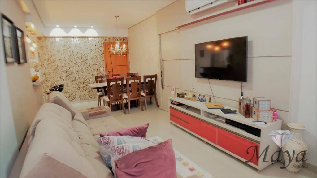 Apartamento 3 Quartos, 87 m² c/ armários na 706 Sul - Res. Monte Sinai