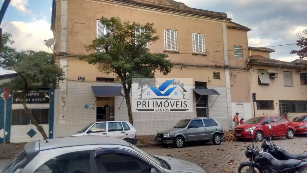 Casa para alugar, 134 m² por R$ 2.200,00/mês - Macuco - Santos/SP