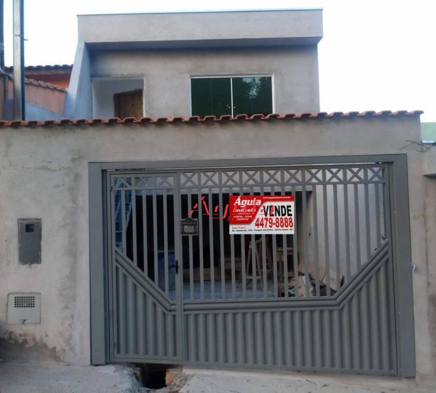 Casa com 3 dormitórios à venda, 100 m² por R$ 500.000 - Jardim Santo Alberto - Santo André/SP