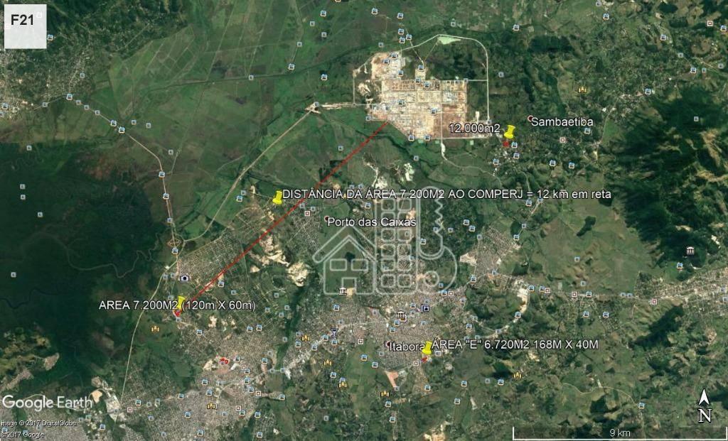 Área à venda, 7200 m² por R$ 3.600.000,00 - Barreto - Niterói/RJ
